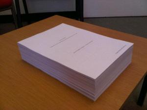 """Travels into Print"". First manuscript draft (February, 2013)."